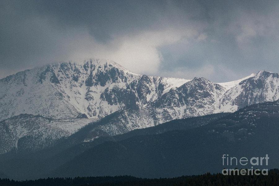 Thunderstorm On Pikes Peak Photograph