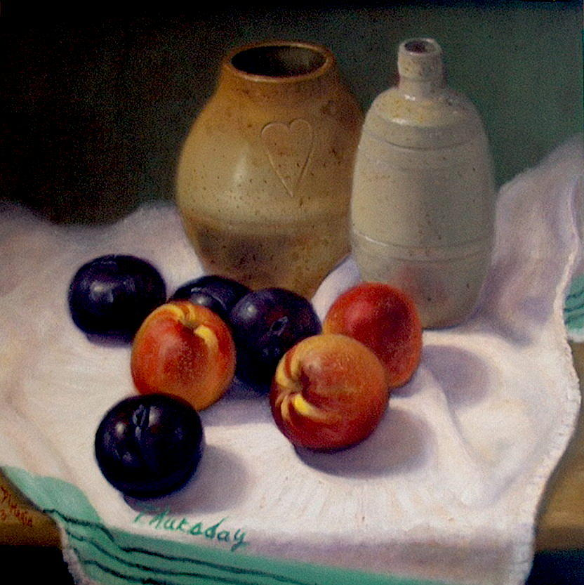 Realism Painting - Thursday by Donelli  DiMaria