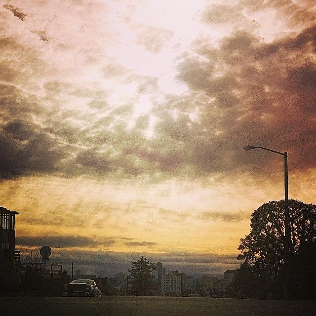 Sanfrancisco Photograph - Thursday Morning. Broadway And Divis by Felicia Zurich-Gallagher