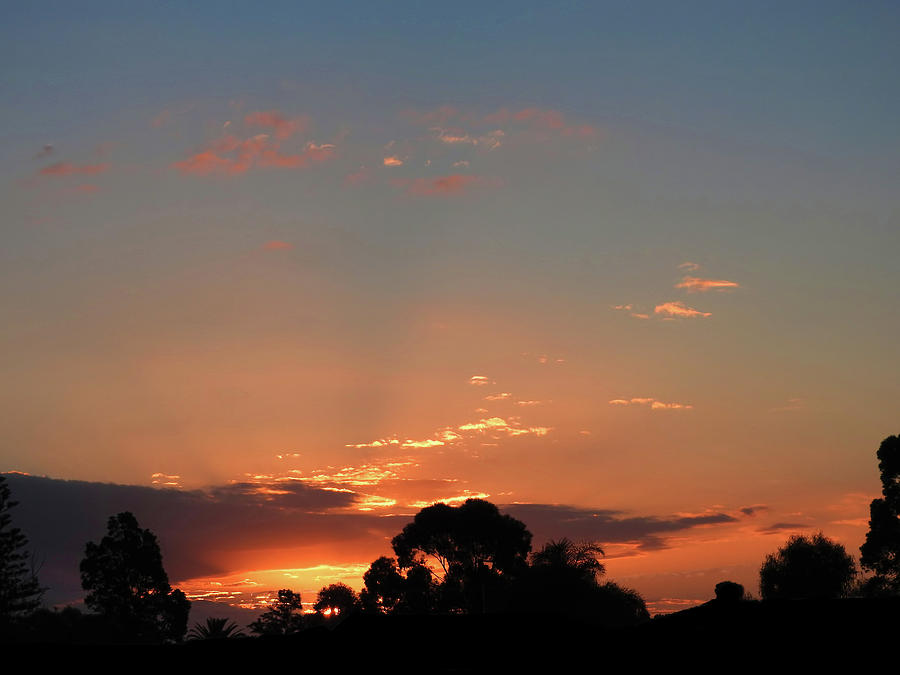 Sunset Photograph - Thursday Sunset by Mark Blauhoefer