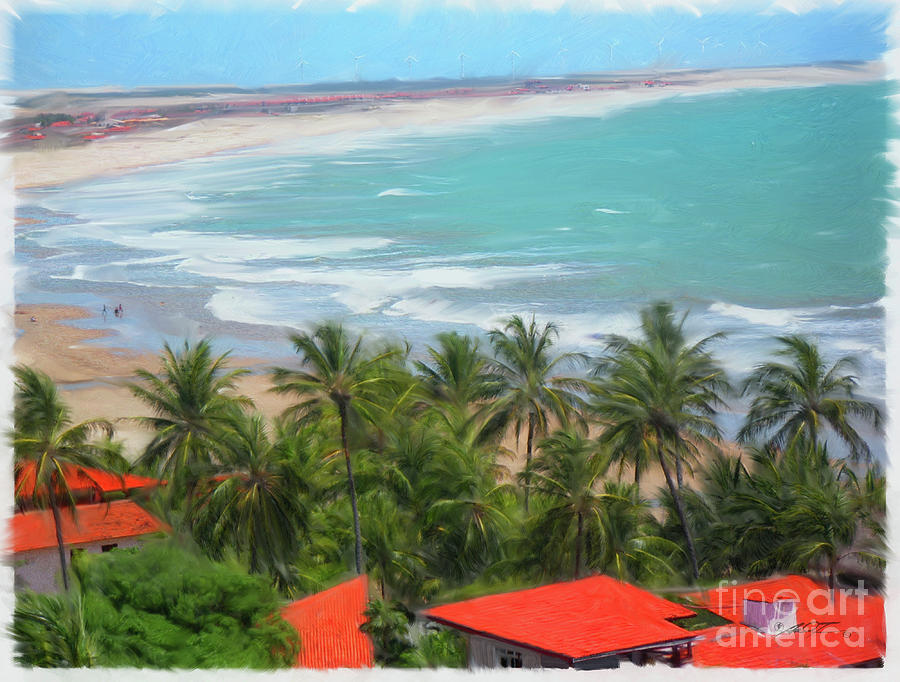 Tiabia, Brazil Beach by Dale Turner