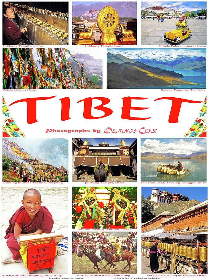 Tibet Poster Photograph