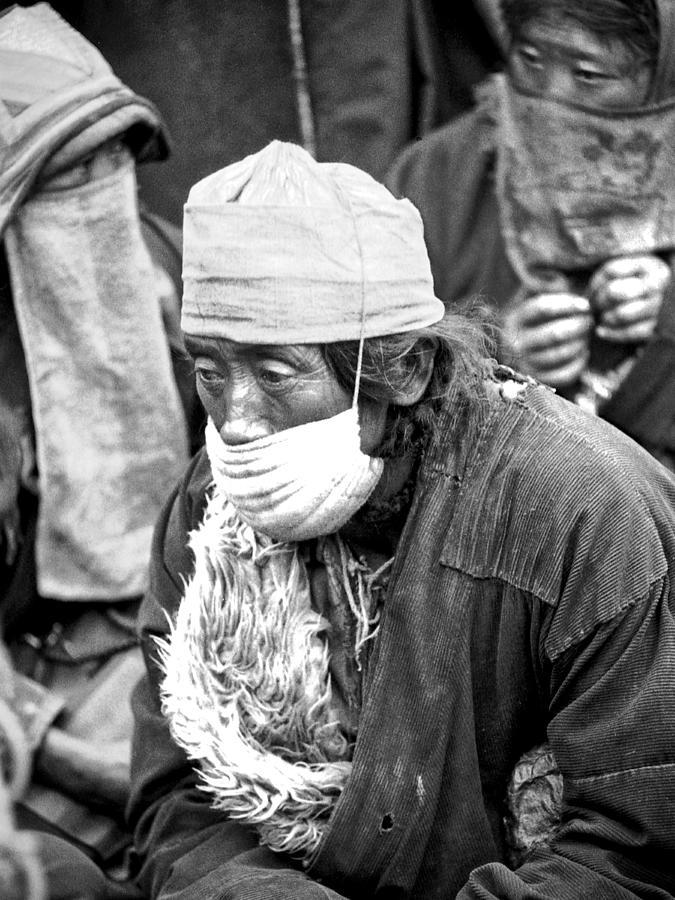 Tibetan Dust Masks  by Neil Pankler