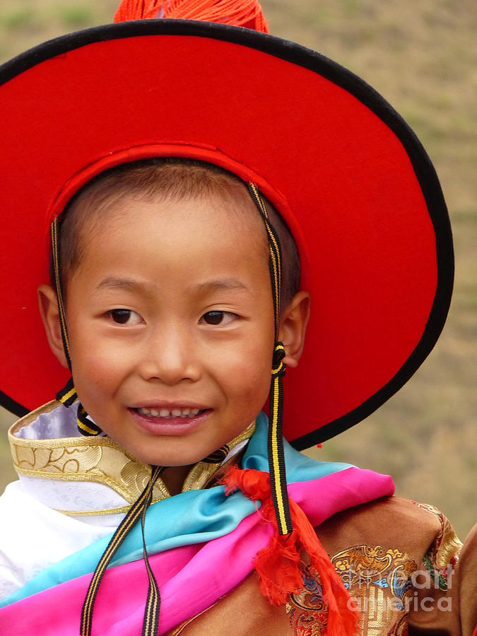 Tibet Photograph - Tibetan Smile by Cris Motta