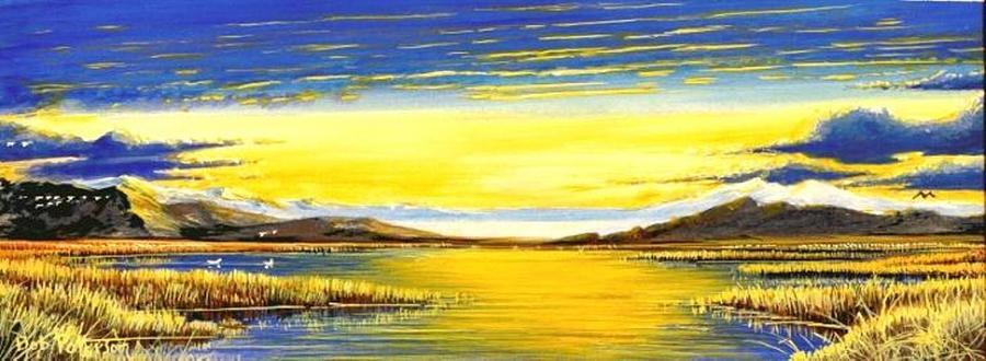 Northwest Tidal Lands Painting - Tidal Lands by Bob Patterson