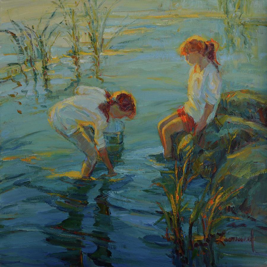 Tide Pools Painting