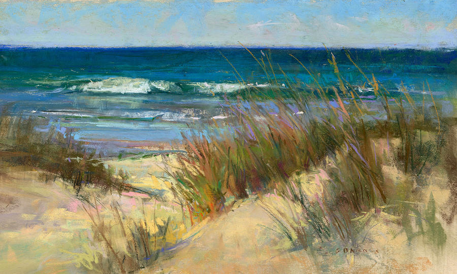 Beach Painting - Tides In by Greg Barnes