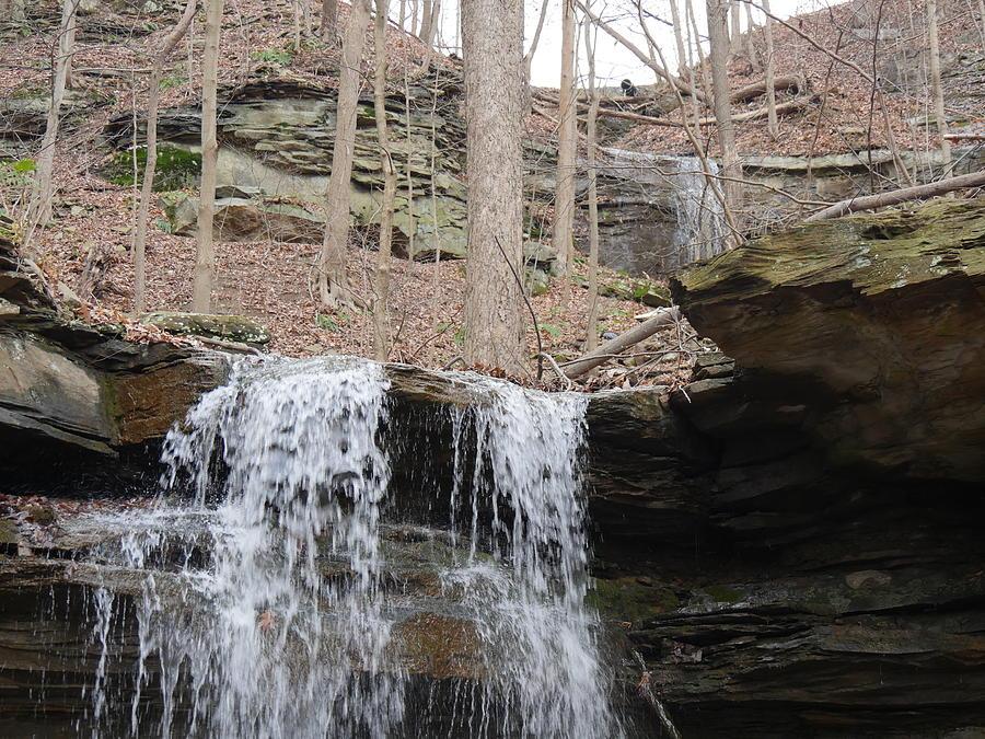 Waterfall Photograph - Tiered Waterfalls by Bill Helman