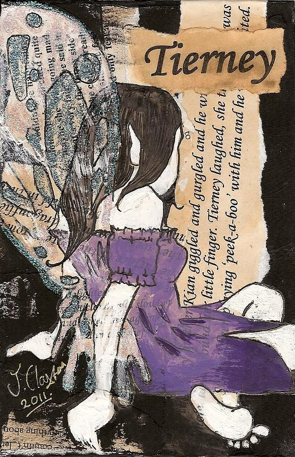 Fairy Mixed Media - Tierney Fairy by Joanne Claxton