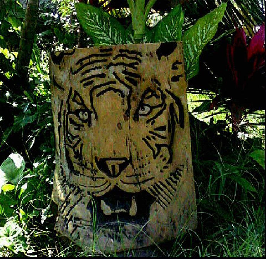 Tiger Relief - Tiger by Calixto Gonzalez