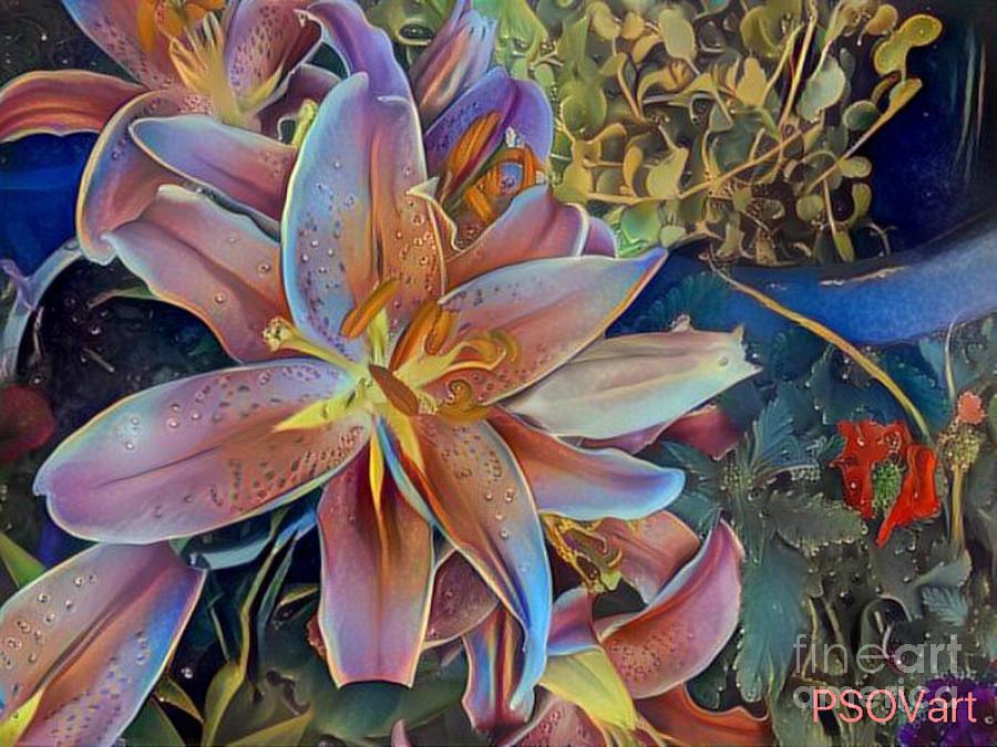 Tiger Lily 1 by Patty Vicknair