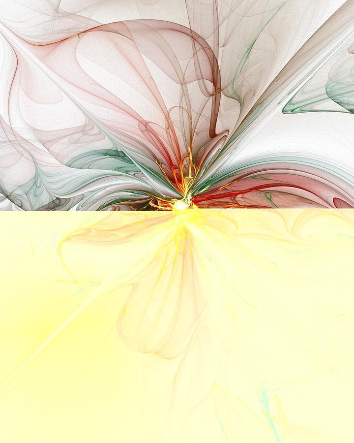 Fractal Digital Art - Tiger Lily by Amanda Moore