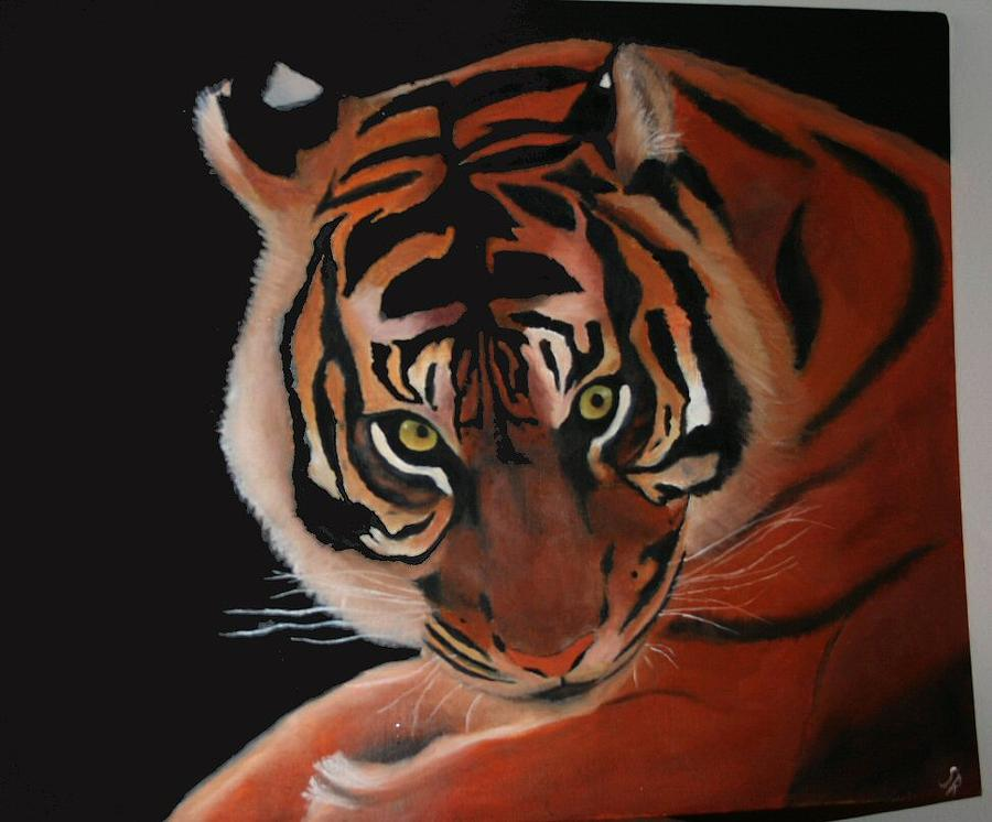 Tiger Painting - Tiger by Sonia Richard