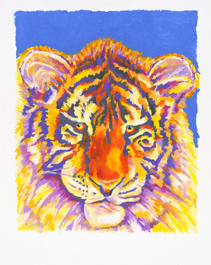 Tiger Painting - Tiger by Stephen Anderson