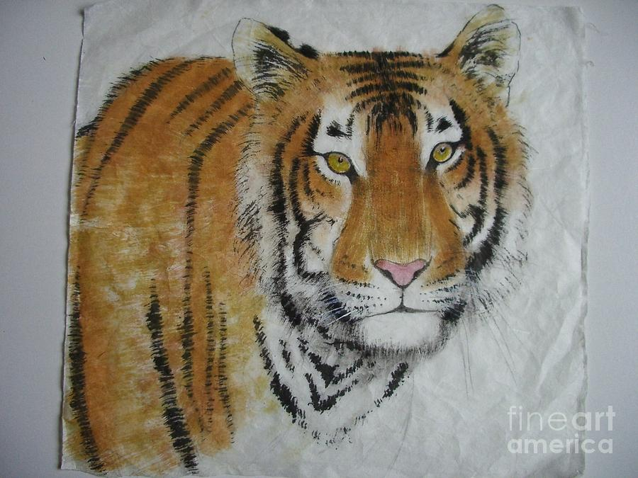 Tiger Painting - Tiger6 by Jian Hua Li