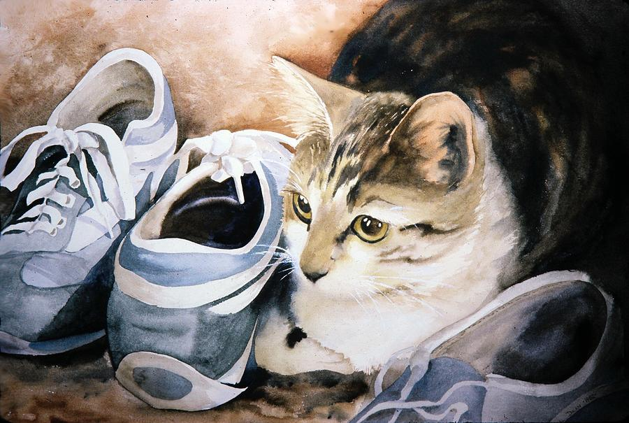 Tigger with Sneakers by Pat Dolan