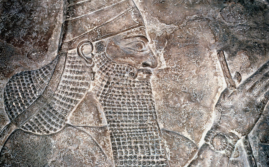 Ancient Photograph - Tiglath Pileser IIi by Granger