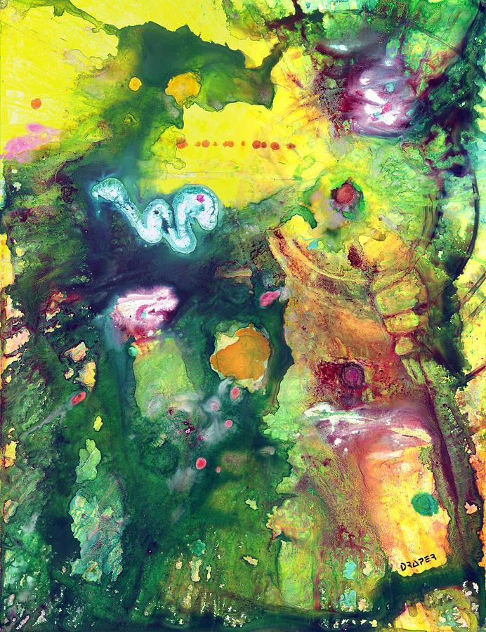 Guatemala Mixed Media - Tikal by James Douglas Draper