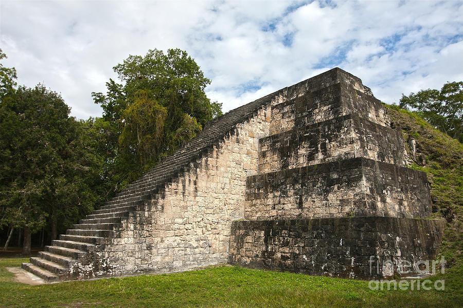Guatemala Photograph - Tikal Mayan Site Guatemala by Tatiana Travelways