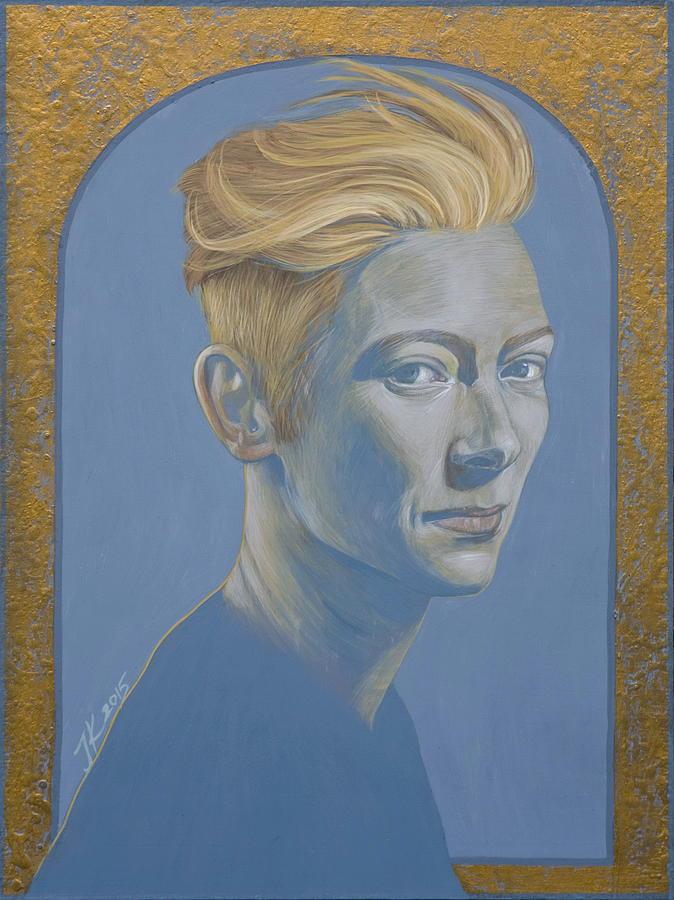 Tilda Swinton Painting - Tilda Swinton by Jovana Kolic