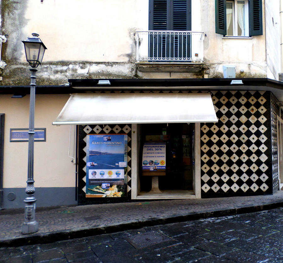 Sorrento Photograph - Tiled Corner by Kristie Rocca