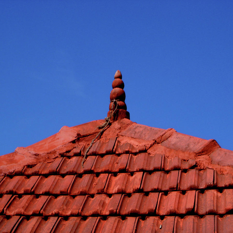 India Photograph - Tiled Roof Near Ooty, India by Misentropy