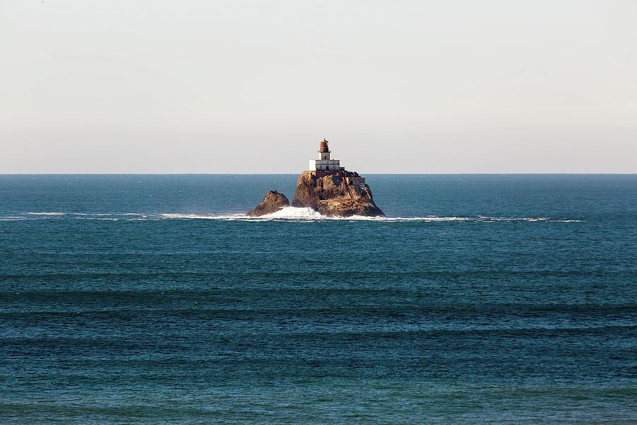 Tillamook Photograph - Tillamook Rock Lighthouse on a Calm Day by David Gn
