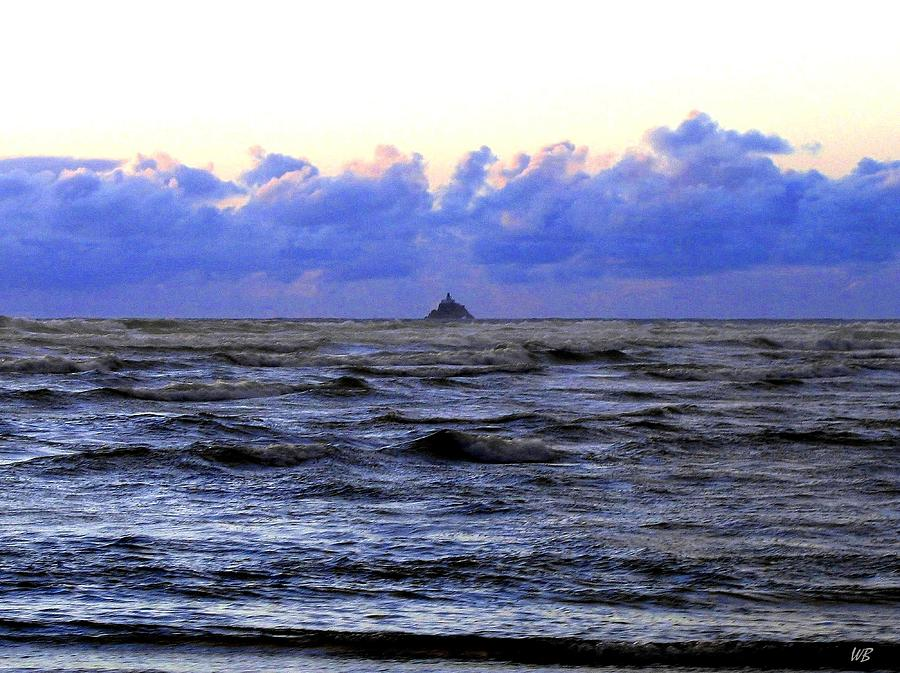 Lighthouse Photograph - Tillamook Rock Lighthouse by Will Borden