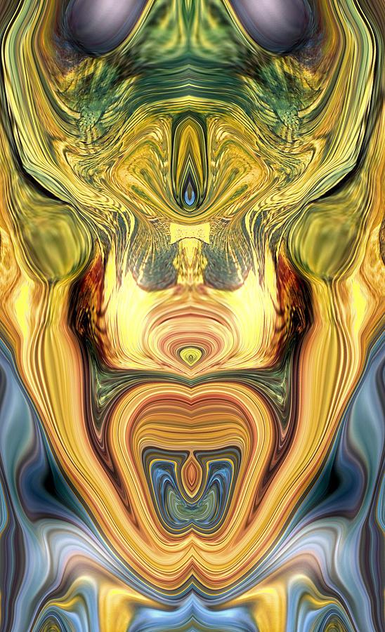 Abstract Digital Art - Tilt Psp by Blake McArthur