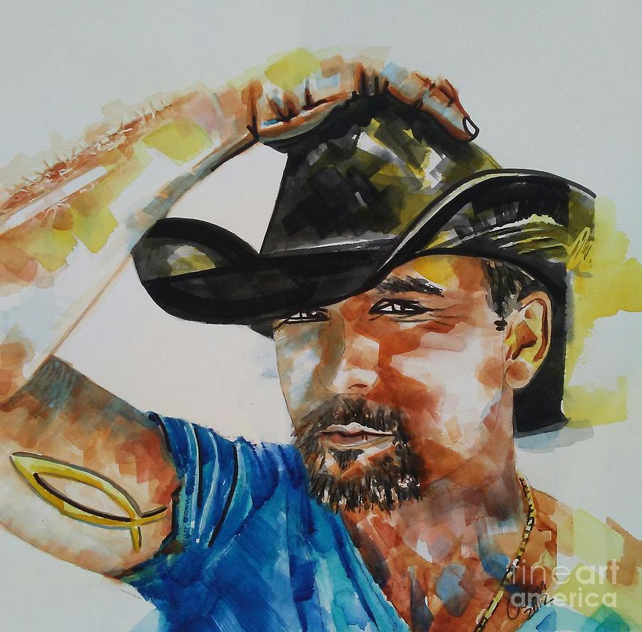 Tim McGraw 03 by Chrisann Ellis