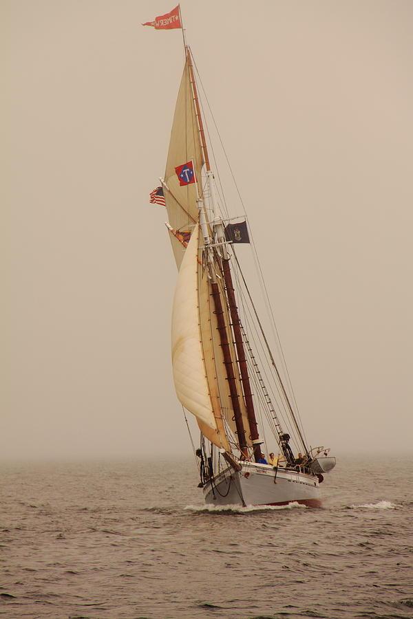 Seascape Photograph - Timberwind by Doug Mills