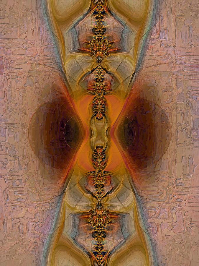 Fractals Digital Art - Time 2 by Alexandru Bucovineanu