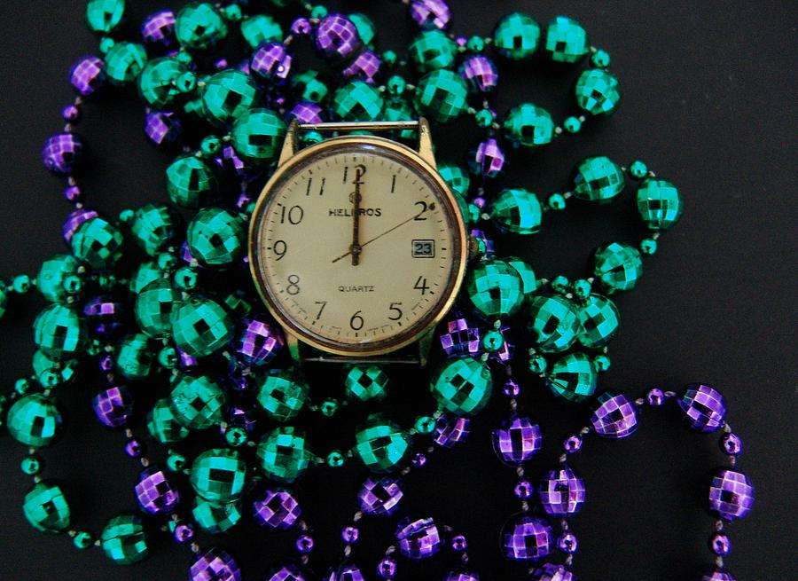 Macro Photograph - Time 2 Party by Florene Welebny