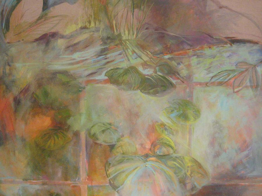 Soft Color Painting - Time And Memory by Pippi Johnson