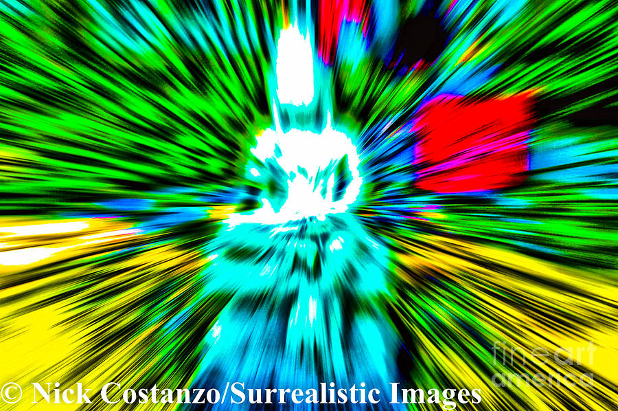 Abstract Photography Photograph - Time And Space  by Nicholas Costanzo