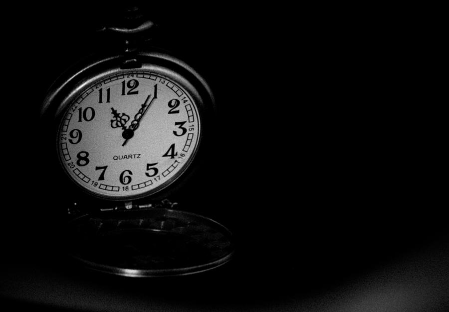 Pocket Watch Photograph - Time by Angela Aird