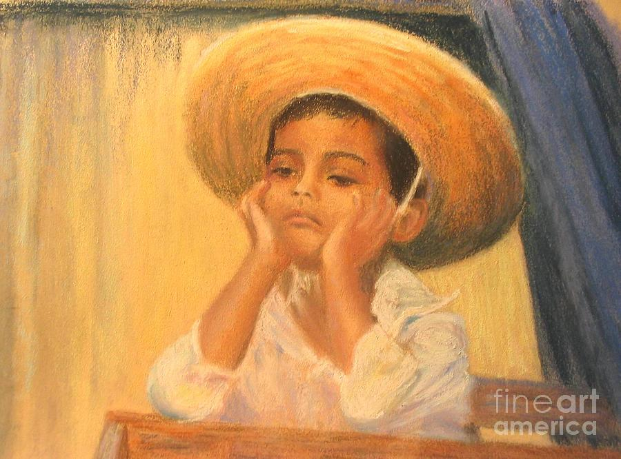 Mexico Painting - Time For A Siesta by Shirley Leswick