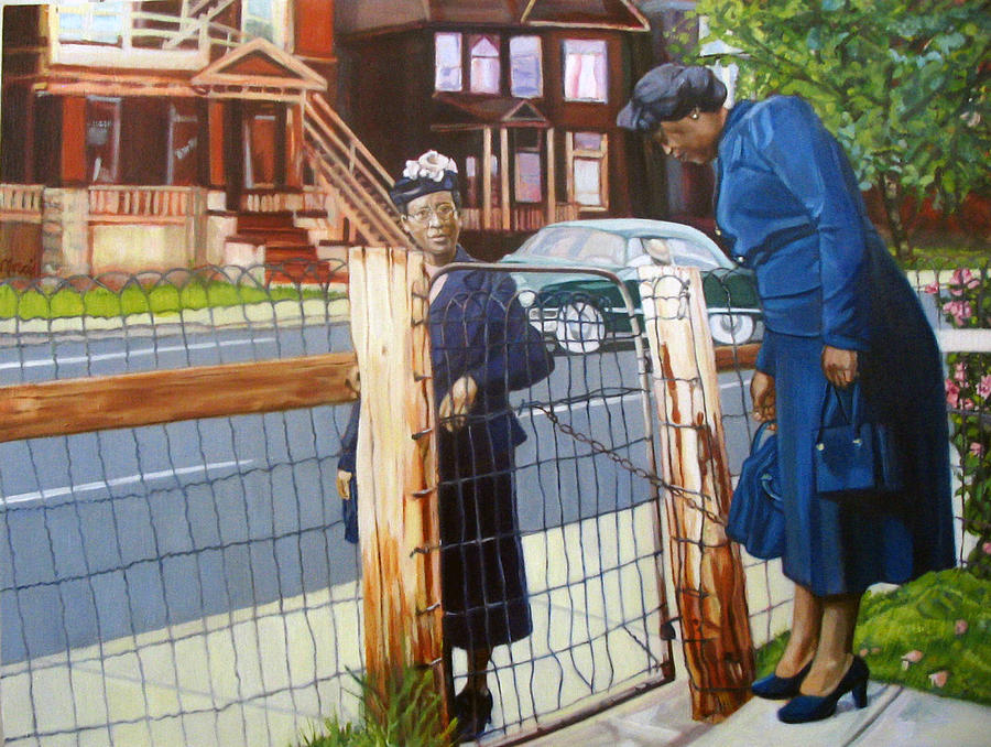Time For Church Painting by Morris T Howard