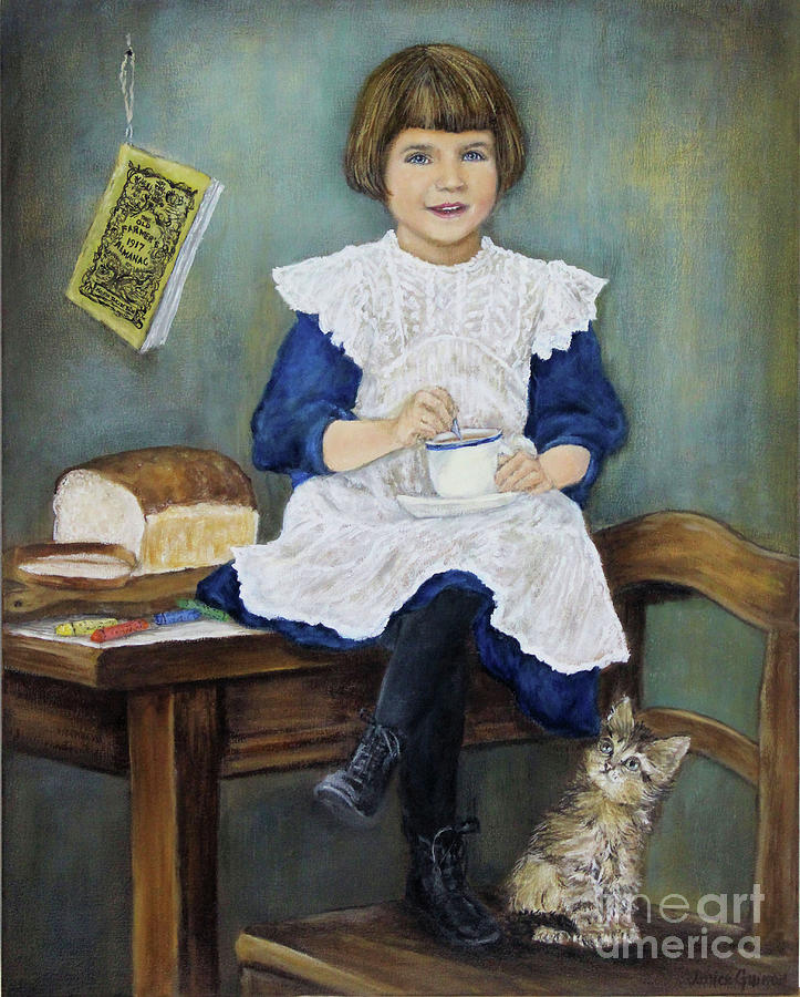Poet Painting - Time For Tea by Janice Guinan