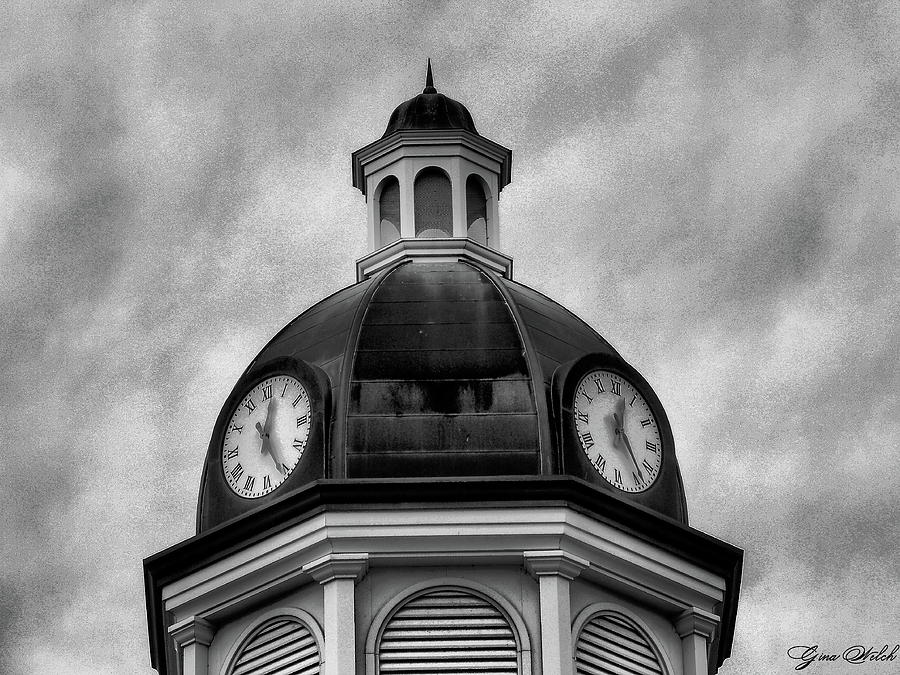 Clock Photograph - Time IIi by Gina Welch