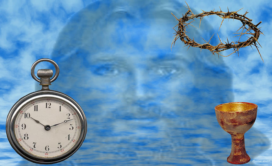 Watch Digital Art - Time Is Ticking by Evelyn Patrick