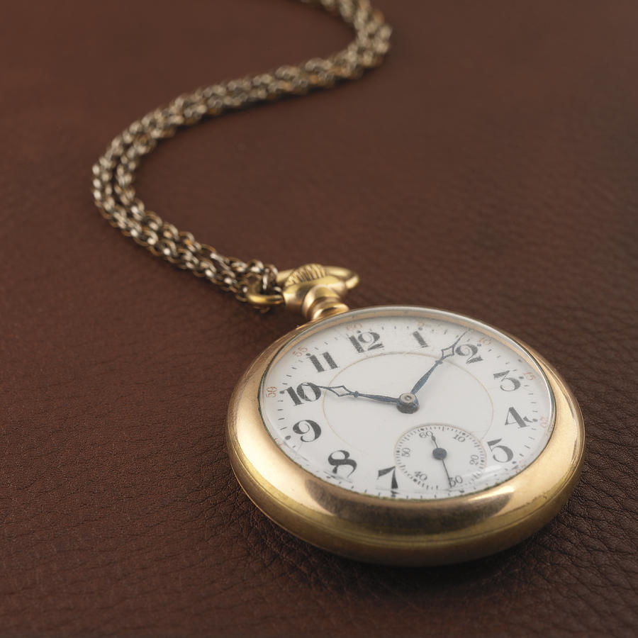 Pocket Watch Photograph - Time by Jerry McElroy