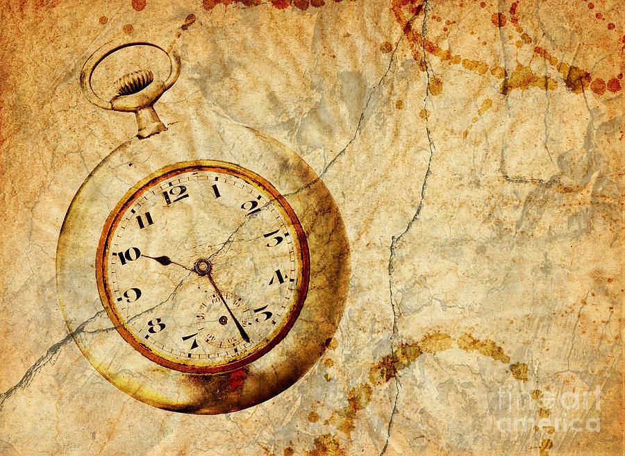 Time Digital Art - Time by Michal Boubin