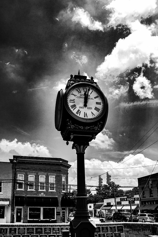 B&w Photograph - Time N Light by Eddie Mathis
