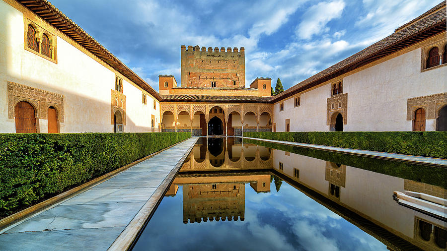 Time Out In La Alhambra Photograph