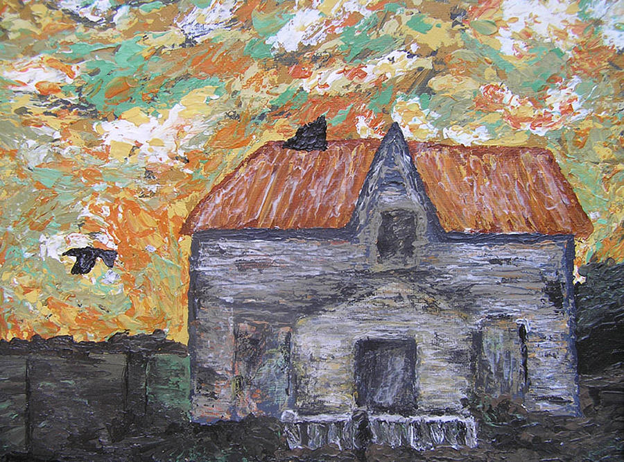 House Painting - Time Out Of Mind by Ricklene Wren