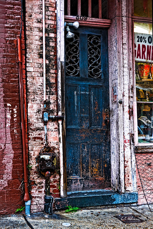 Door Photograph - Time Tested by Christopher Holmes