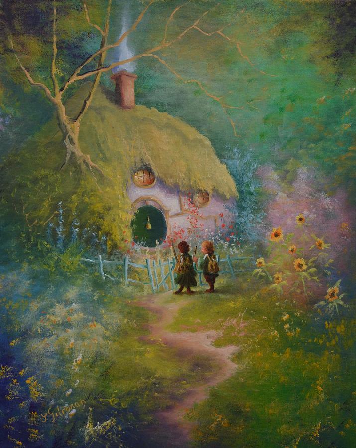 Time To Go Mr. Frodo. by Joe Gilronan