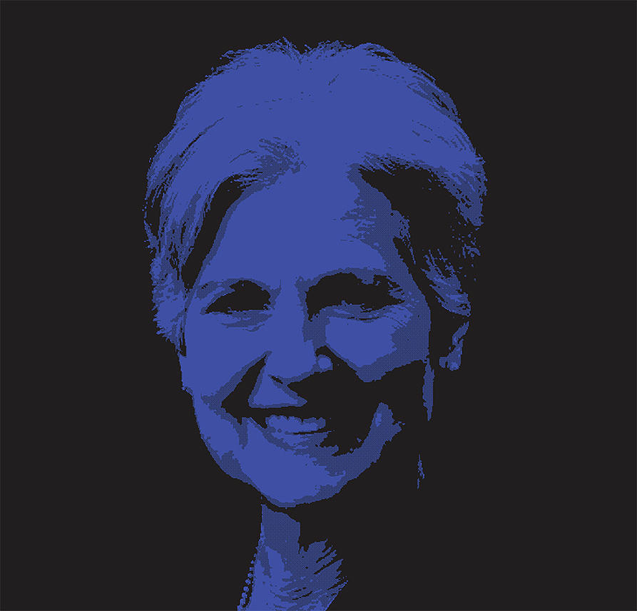 Collectivism Digital Art - Time To Reject The Lesser Evil For The Greater Good. Why Not Dr Jill Stein. Tnm  by Mark Van den dries