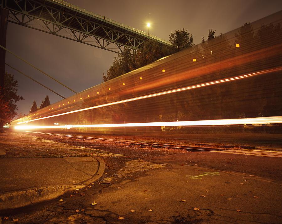 Nature Photograph - Time Train by Benjamin Garvey